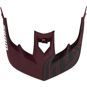 Troy Lee Designs Stage MIPS Helm nova SRAM burgundy